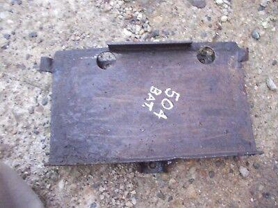 Farmall 504 Gas Rowcrop Tractor Ih Battery Tray Main Platform