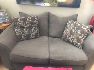 Large couch, love seat and accent chair