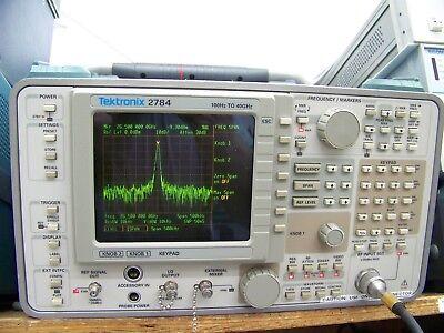 Tektronix 2784 Spectrum Analyzer 40 Ghz With Warranty