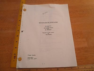 One Flew over the Cuckoo's Nest movie script final draft
