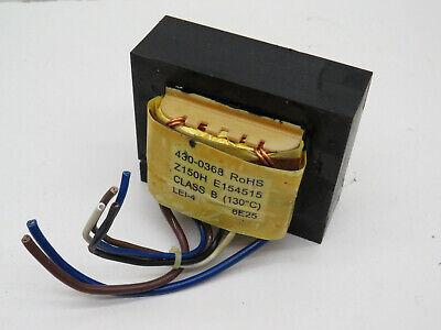 430-0368 Power Supply Transformer Class B - Z150h E154515 For Ups