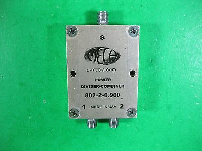 Meca Power Dividercombiner -- 802-2-0.900 -- Used