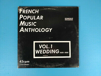 French Popular Music Anthology 2 LPs Vol. 1 Wedding, Dominus Records, - French Recorder Music