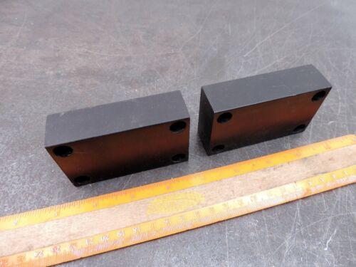 Industrial Paperweight Aluminum Blocks 9.8 Oz each Paper Weight Steampunk