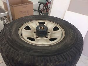 Land cruiser 100 series rims and tyres Bellfield Banyule Area Preview
