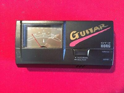 Vintage Korg GT-2 Guitar Tuner - Vintage Japan