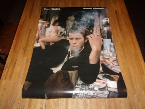 Tom Waits : Small Change Poster 33 X 23 Out of Print ( Elvira ? )