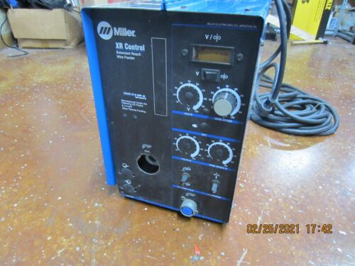 Miller XR Control Extended Reach Welder Wire Feeder