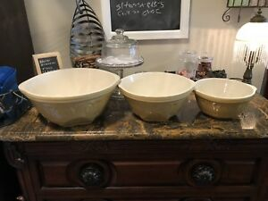 3 piece vintage bowls for sale