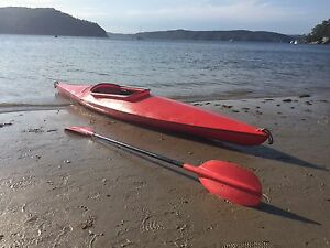 Finn TK1 Kayak Canoe (Plastic) Newport Pittwater Area Preview