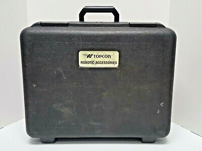 Topcon Robotic Accessories Hard Case Case Only Used