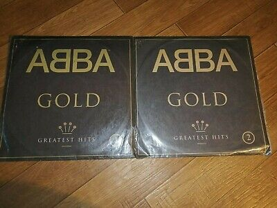 ABBA gold greatest hits 2 lp vinyl