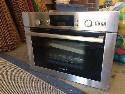 New BOSCH steam oven