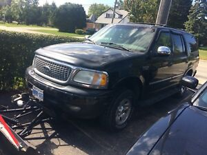 2001 Ford expedition plowtruck