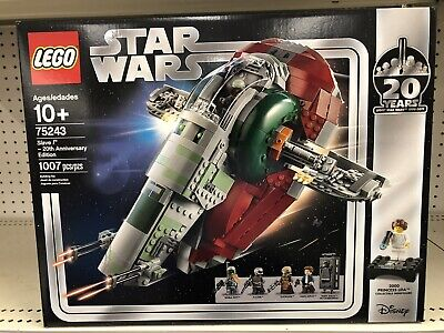 2019 LEGO STAR WARS SLAVE I 20TH ANNIVERSAY SET 75243 FACTORY SEALED IN HAND