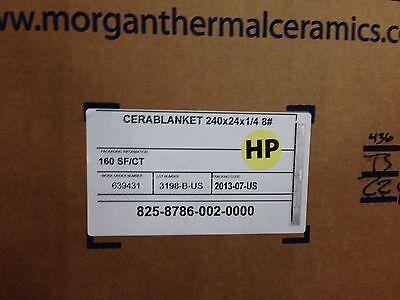 Cerablanket Ceramic Fiber Blanket 14x 24x 20 8 Dens