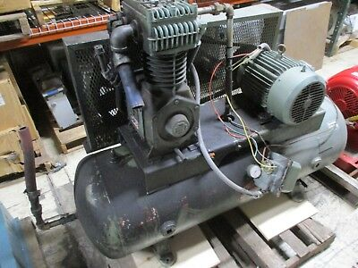 Cooper Industries Compressor Askaac 7.5hp 80 W.c. Tank Used