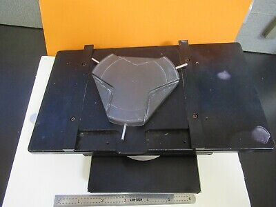 Zeiss Germany Stage Table Rotatable Microscope Part As Pictured Ft-2-102