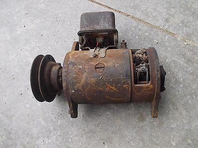 Farmall Ih H Hv Sh M Mv Sm Tractor 6v Generator Regulator Belt Drive Pulley