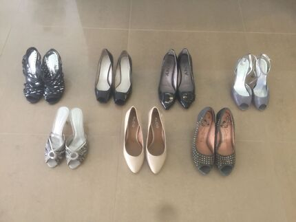 ladies high heel shoes - size 37 and 38