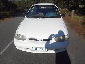 1998 Ford Festiva Hatchback AUTO LOW KS WITH REG AND ROADWORTHY!! Moorabbin Kingston Area Preview