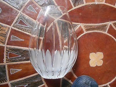 royal doulton crystal, cut glass vase