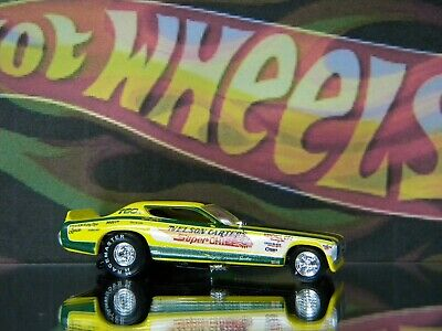 HOT WHEELS NELSON CARTER SUPER CHIEF DODGE CHARGER FUNNY CAR SUMMER