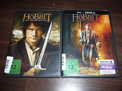 DVD Der Hobbit 1-2 Eine Unerwartete Reise + Smaugs Einöde (Hobbit Eine Unerwartete Reise Dvd)