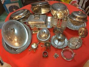 Collection of Silver Plated serving ware Ryde Ryde Area Preview