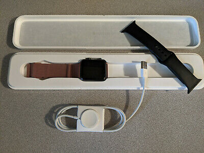 Apple Watch Generation 1 Sport 42mm Model A1554 Smartwatch