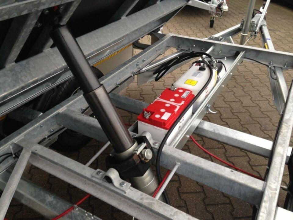 ⭐ Eduard e-Kipper 3-Seiten 2700kg 311x160x30cm e+Handpumpe Alu 72 in Schöneiche bei Berlin