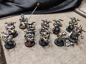 40k Chaos space marine Iron warriors X 11