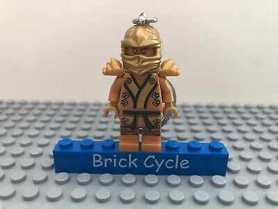 Lego Ninjago Golden Ninja Minifigure Keyring Key Chain (850622)