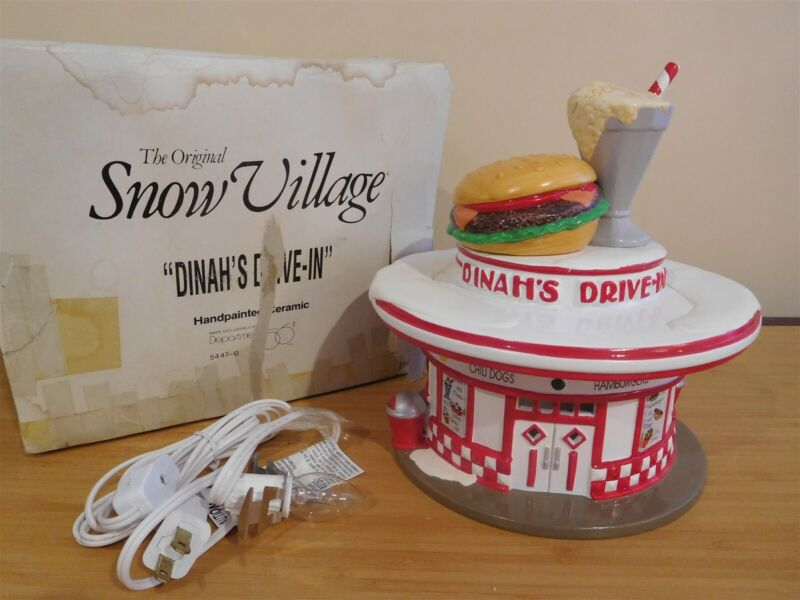 Dept 56 Snow Village - Dinah