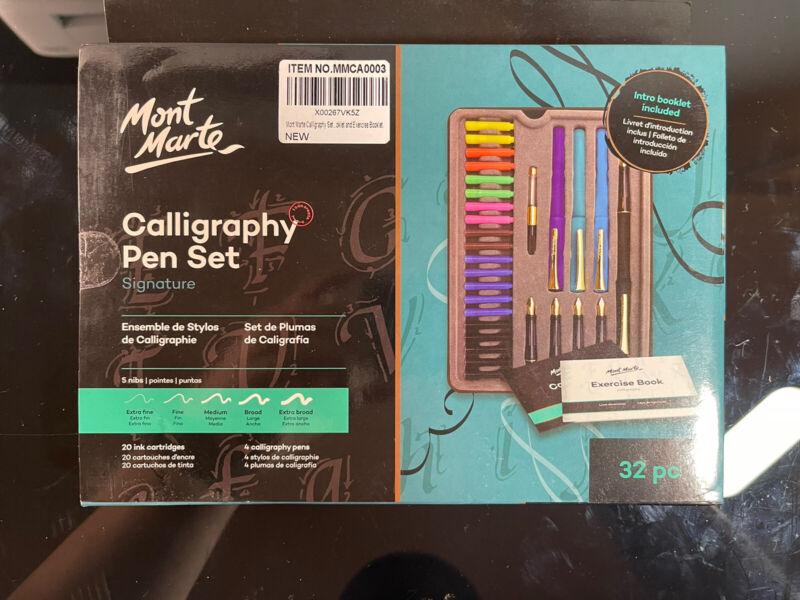 Mont Marte MMCA0003 Calligraphy Pen Set - 33 Piece