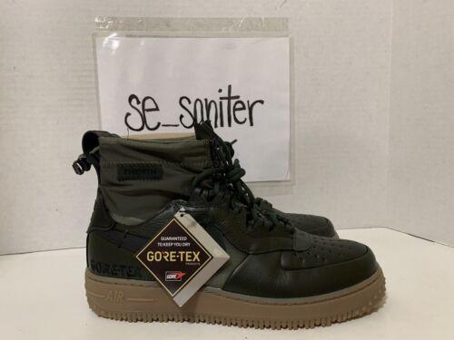 NIKE Air Force I WTR GTX - Winter Gore-Tex Sequoia Boot CQ72