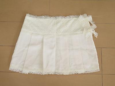 LIZ LISA White skirts Lolita Hime Gyaru shibuya109 Very Cute (b42)
