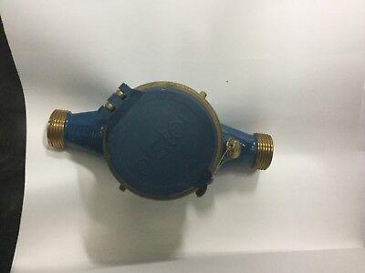 30mm Elster Inline Water Meter Brass Volumetric Pn16