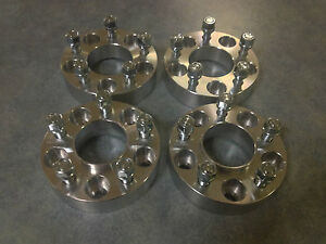 Ford-XC-to-BA-BF-FG-AU-Falcon-Wheel-Aluminium-Spacer-Adaptor-35mm-FULL-SET