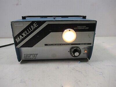 Bfw Maxillume 150-1 Fiber Optic Light Source Medical Endoscopy Unit