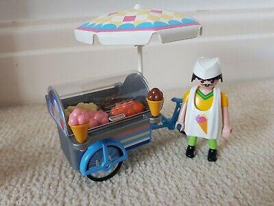 Playmobil 7492 Ice Cream Man Ice Cream Cart Bike