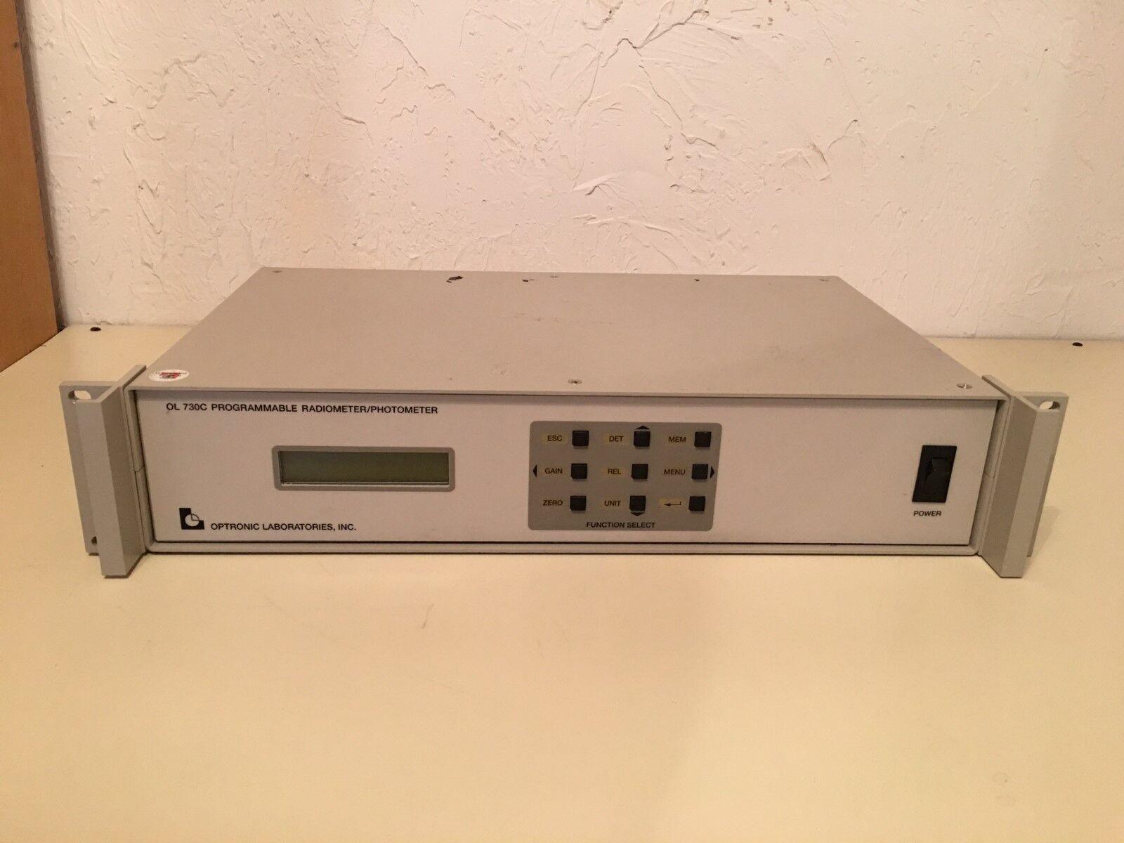 Optronic Laboratories 730C Programmable Radiometer/Photometer