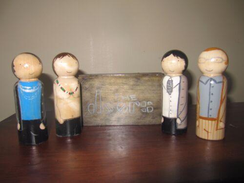 The Doors hand made peg doll set