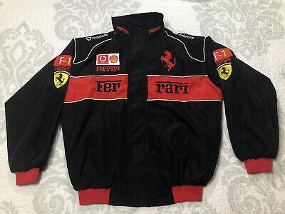 Formula 1 Ferrari Vodafone jacket youth size XXL / adult small Sewn Stitched F-1