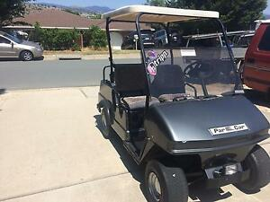 Golf cart and trailer Conder Tuggeranong Preview