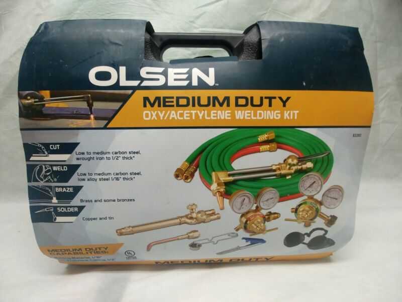 Olsen Medium Duty Oxygen Acetylene Torch Welder Kit
