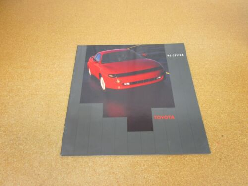 ORIGINAL 1990 Toyota Celica sales brochure dealer literature 26 page