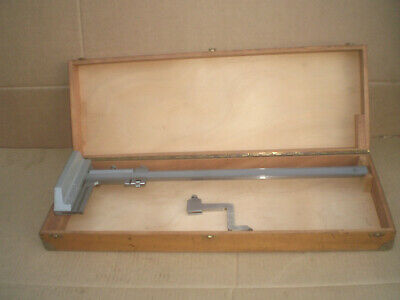 Helios Vernier Height Gage 22 With Wooden Storage Box