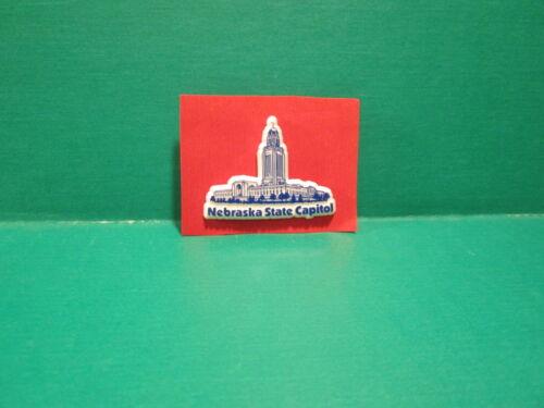 Nebraska State Capitol Lapel  Pin