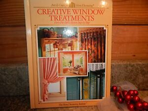 Arts-amp-Crafts-for-Home-Decorating-Creative-Window-Treatments-45-Pattern-Book-EUC